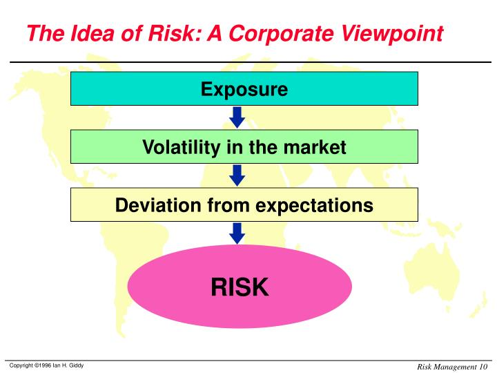 The Idea of Risk: A Corporate Viewpoint