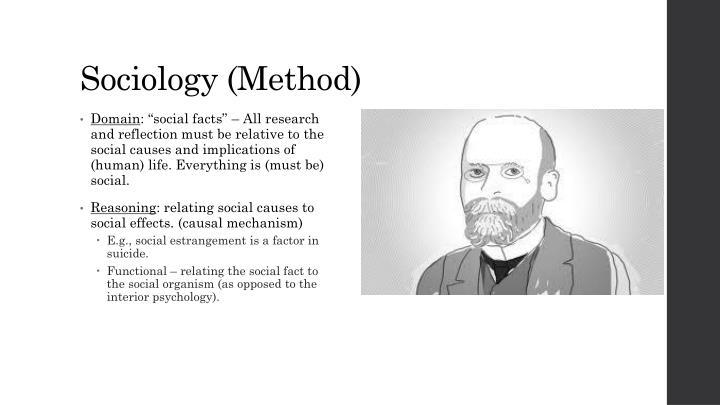 Sociology (Method)