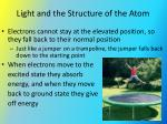 light and the structure of the atom2