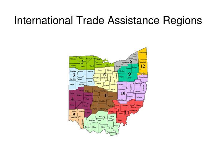 International Trade Assistance Regions