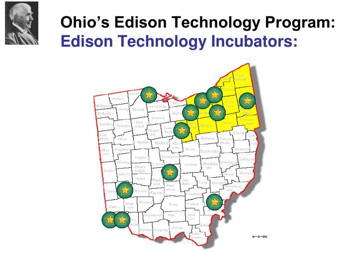 Ohio's Edison Technology Program: