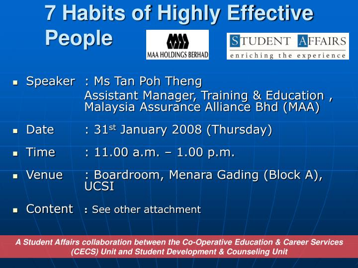 7 habits of highly effective people n.