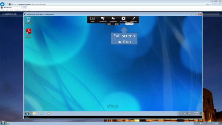 Full-screen