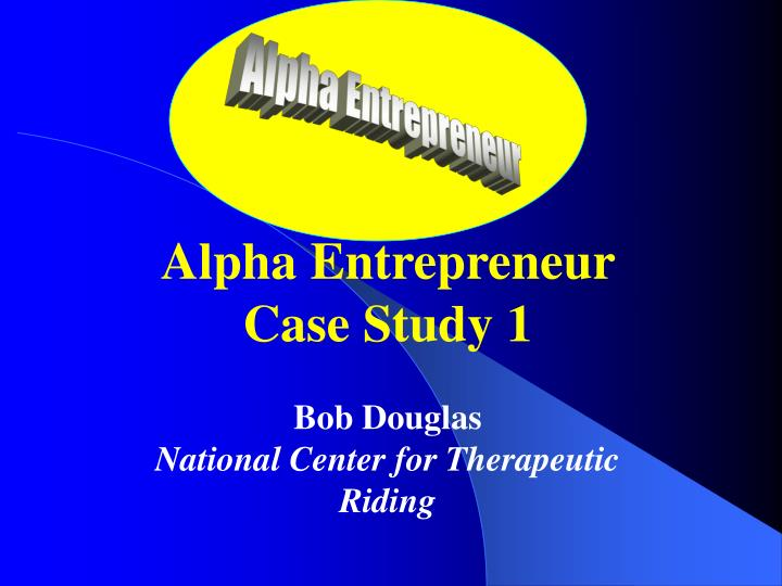 entrepreneur case study Employee to entrepreneur enrollment ends soon, go here for the full details:.