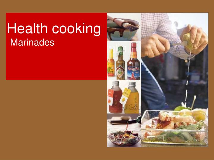 Health cooking