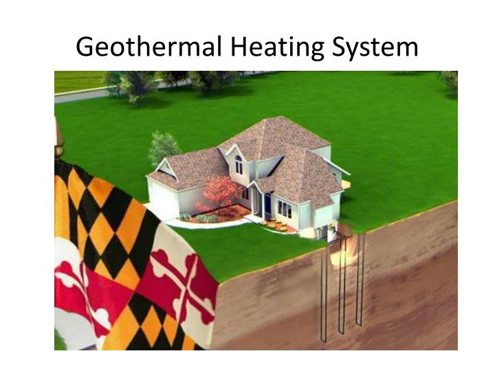 Geothermal heating system