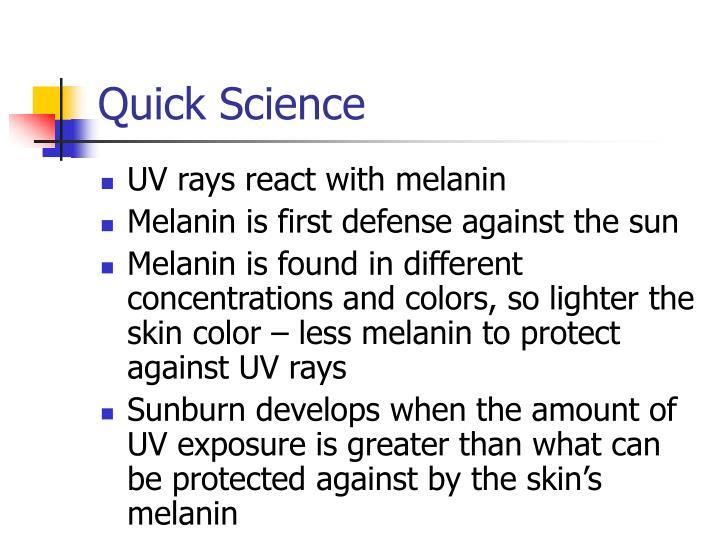 Quick Science