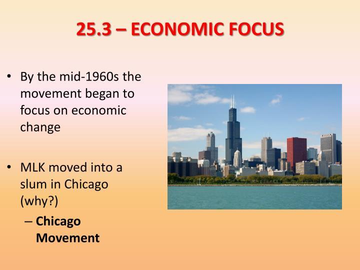 25.3 – ECONOMIC FOCUS
