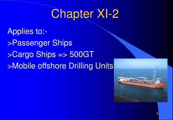 Chapter XI-2