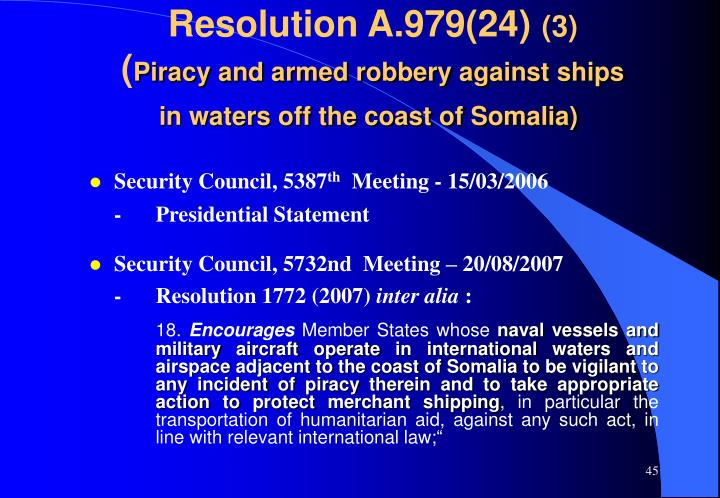 Resolution A.979(24)