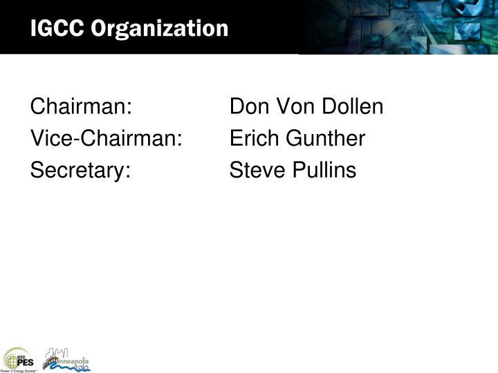 IGCC Organization