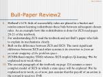 bull paper review2