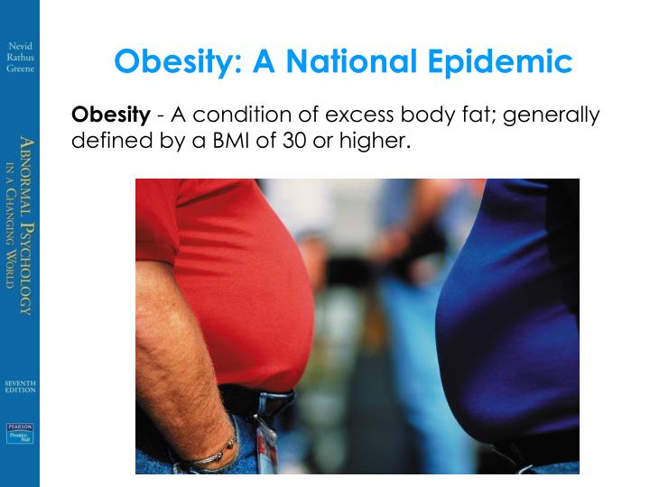 Obesity: A National Epidemic