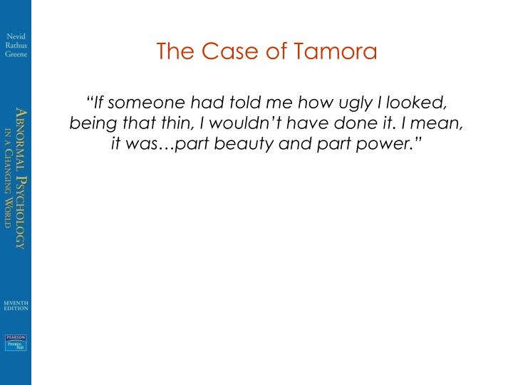 The Case of Tamora