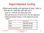 superimposed coding