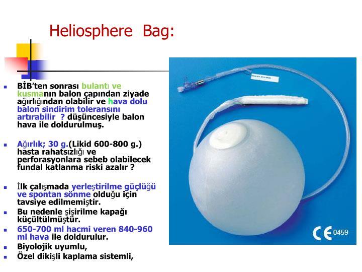 Heliosphere  Bag: