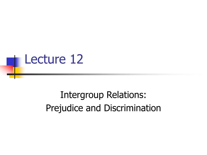 realistic group conflict and prejudice Realistic group conflict theory psy conflict of group psychology of prejudice and discrimination - psychology of prejudice and realistic conflict.