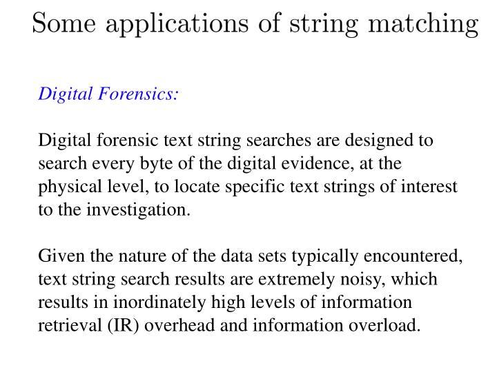Digital Forensics: