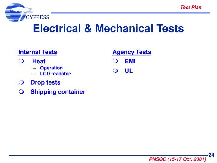 Internal Tests