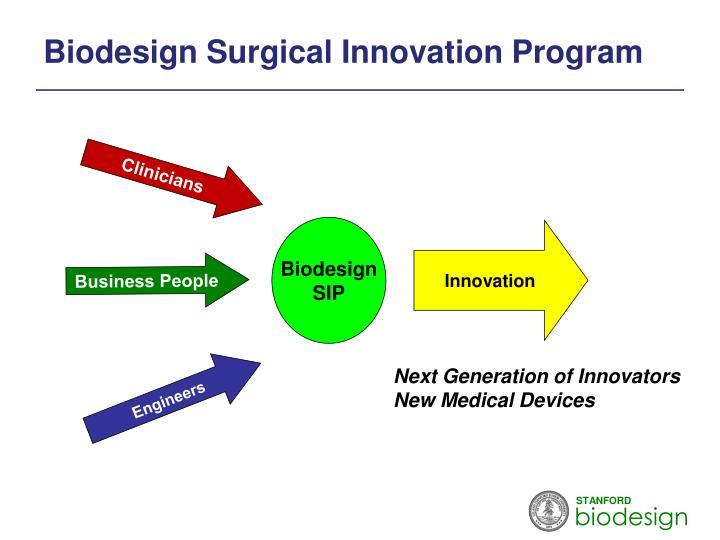 Biodesign Surgical Innovation Program