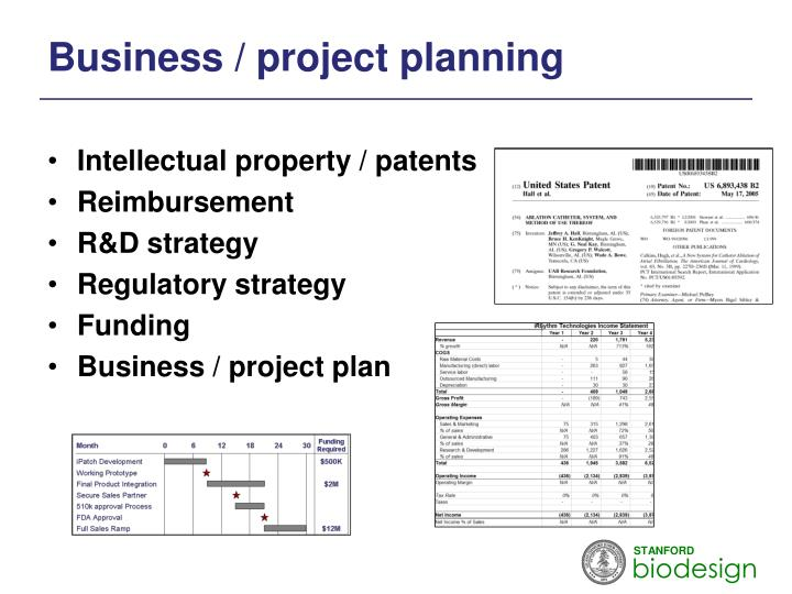 Business / project planning