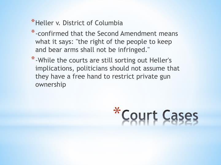 Heller v. District of