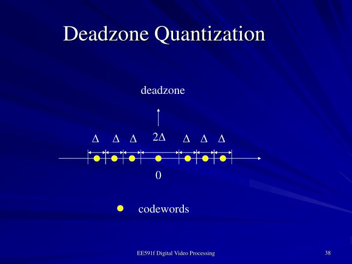 Deadzone Quantization