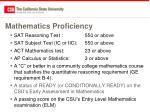 mathematics proficiency