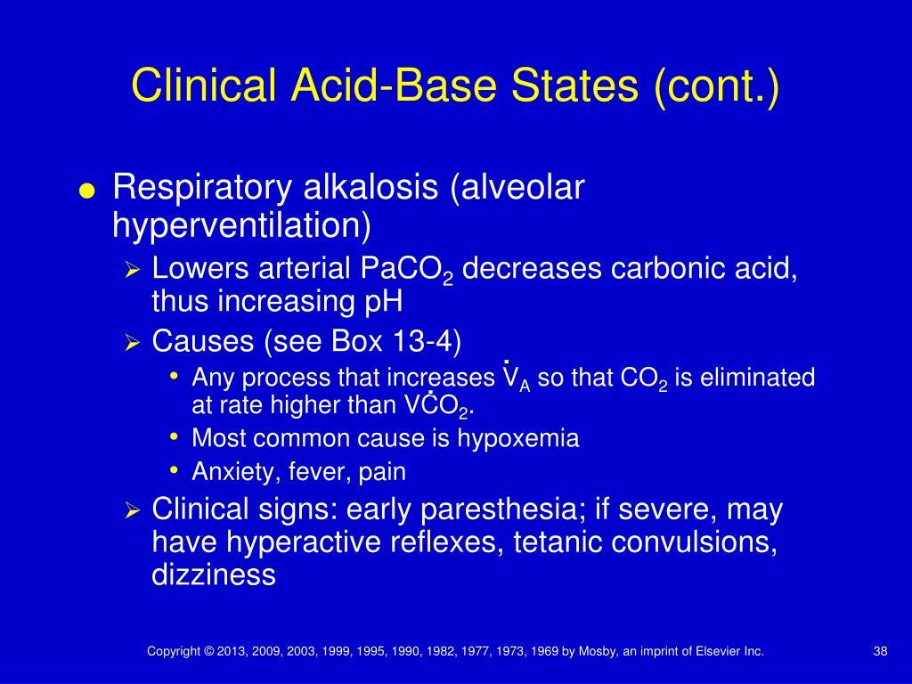 PPT - Chapter 13 Acid-Base Balance PowerPoint Presentation