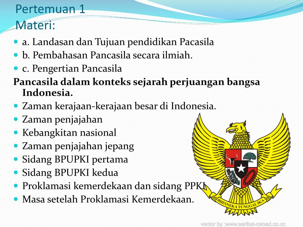 Contoh Makalah Pancasila Dalam Konteks Sejarah Perjuangan Bangsa Indonesia Seputar Sejarah