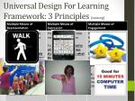universal design for learning framework 3 principles cast org