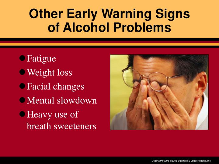Other Early Warning Signs