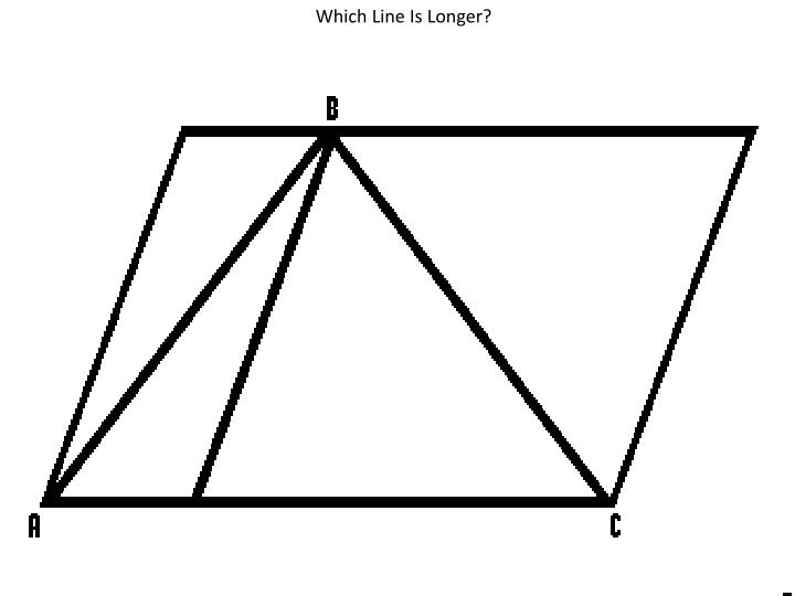 Which Line Is Longer?