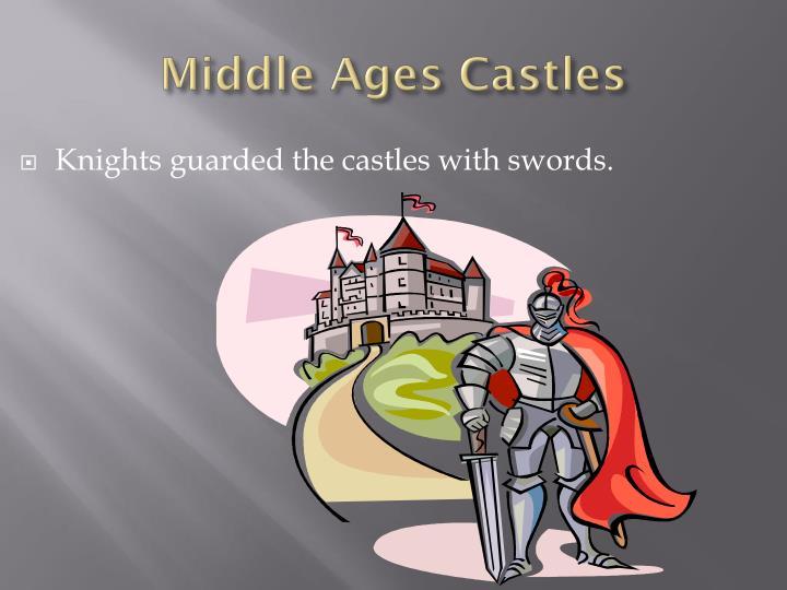Middle ages castles1
