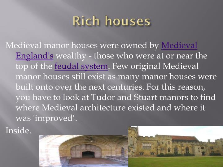 Rich houses