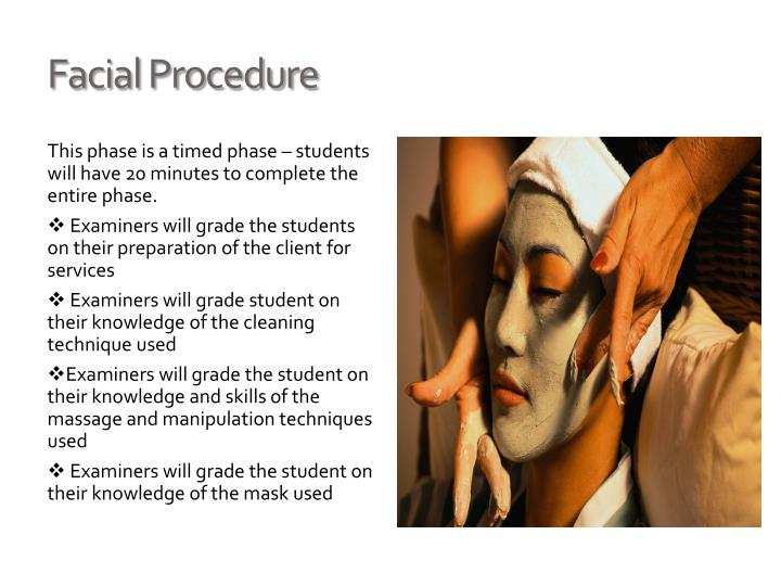 Facial Procedure