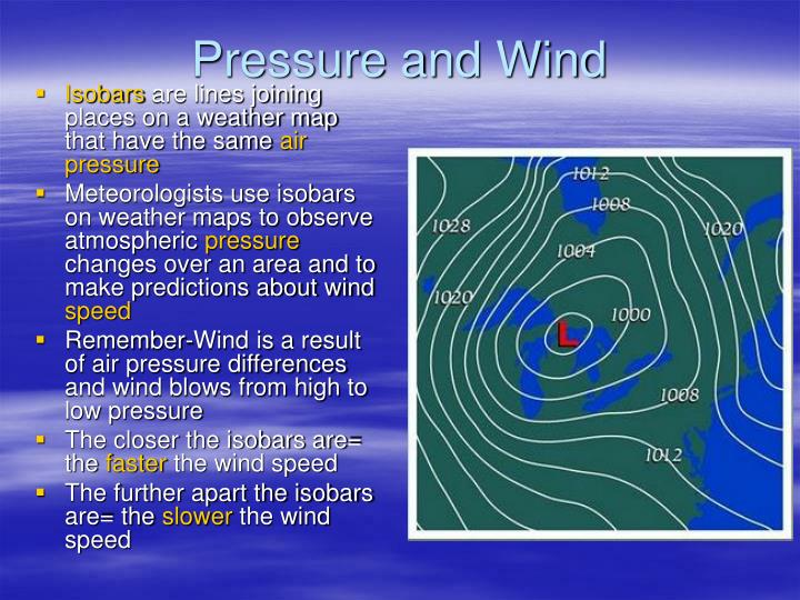 What Are Isobars On A Weather Map.Ppt Chapter 2 Section 3 Powerpoint Presentation Id 2760298