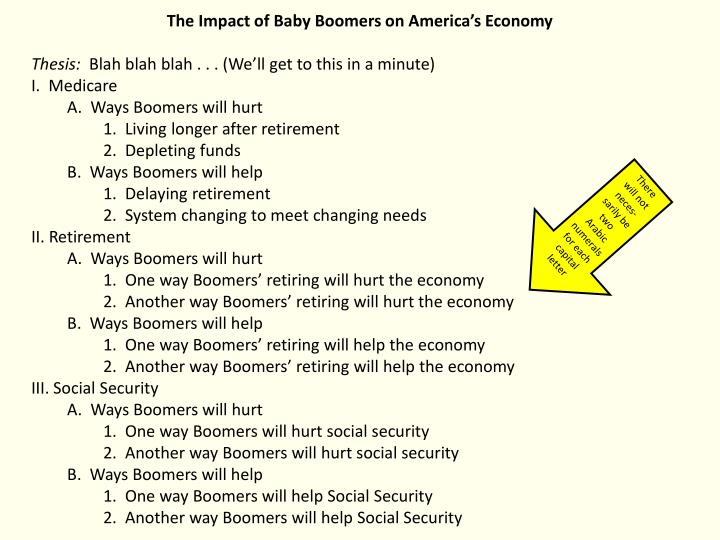 The Impact of Baby Boomers on America's Economy