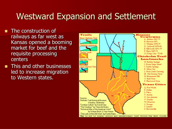 Westward Expansion and Settlement