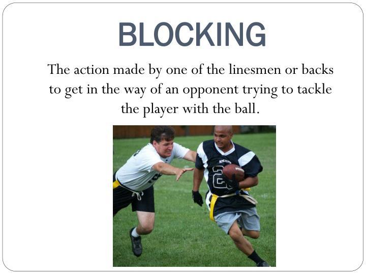 BLOCKING