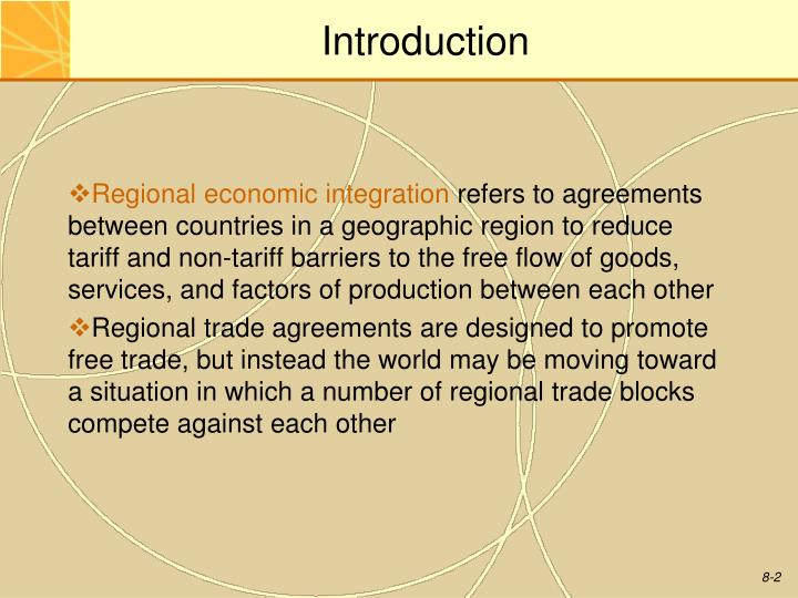Ppt Chapter 8 Regional Economic Integration Powerpoint