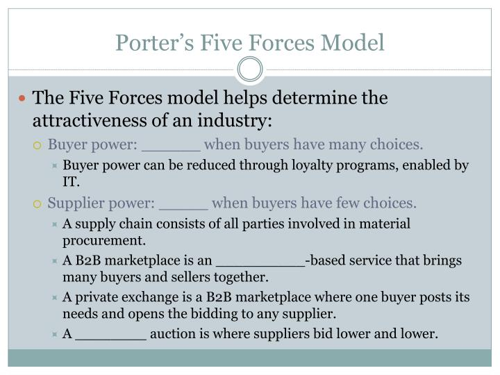 porters five forces and information systems Porters five forces porter's five forces model porter's five forces is an economic model used to characterise industries and markets, and combine to make up the business environment.