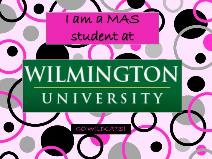 I am a MAS student at