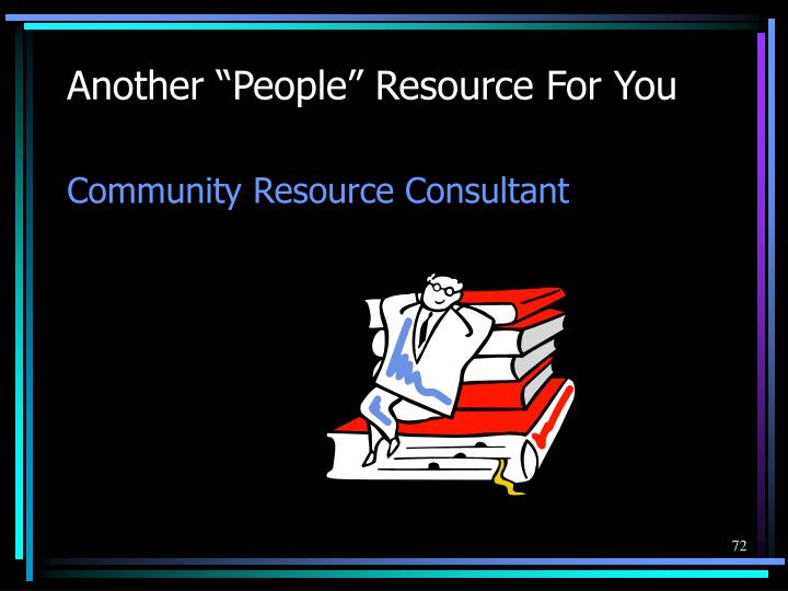 """Another """"People"""" Resource For You"""