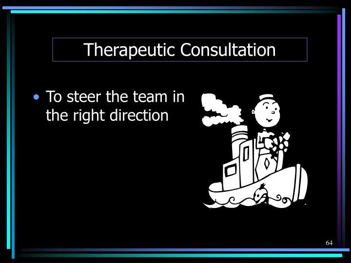Therapeutic Consultation