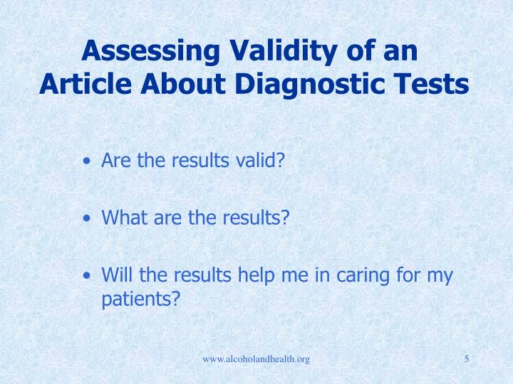 assess the validity of online information Content validity is the degree to which an assessment measures what it is intended to measure - and the extent to which it provides information that will help answer specific, important questions in this series of three videos, we explore the foundational concepts behind content validity with explanations of essential terms, a primer on the.