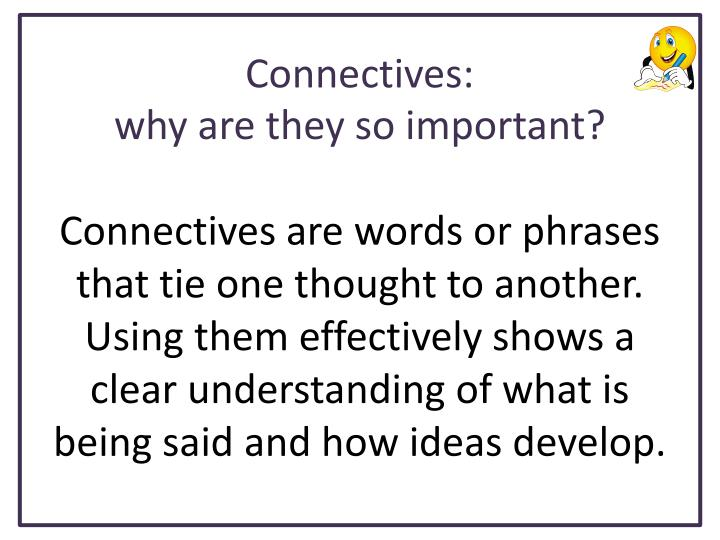 Connectives1