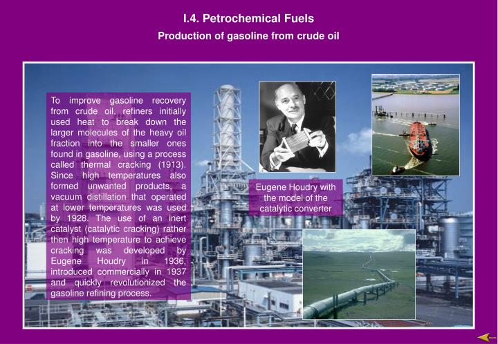 i 4 petrochemical fuels