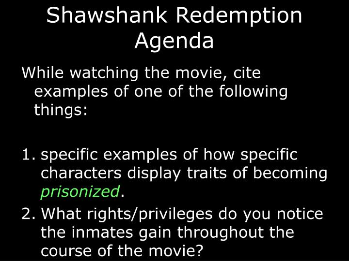 "theme of shawshank rehabilitation 25 essential prison movies  the film is admirably liberal in its support of prison rehabilitation and it  and one that predates ""the shawshank."