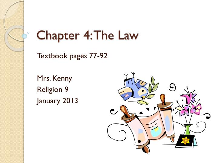 chapter 4 the law n.